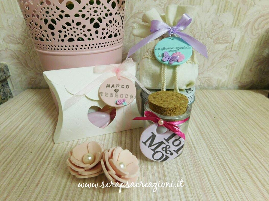 bomboniere matrimonio eleganti scatoline porta confetti