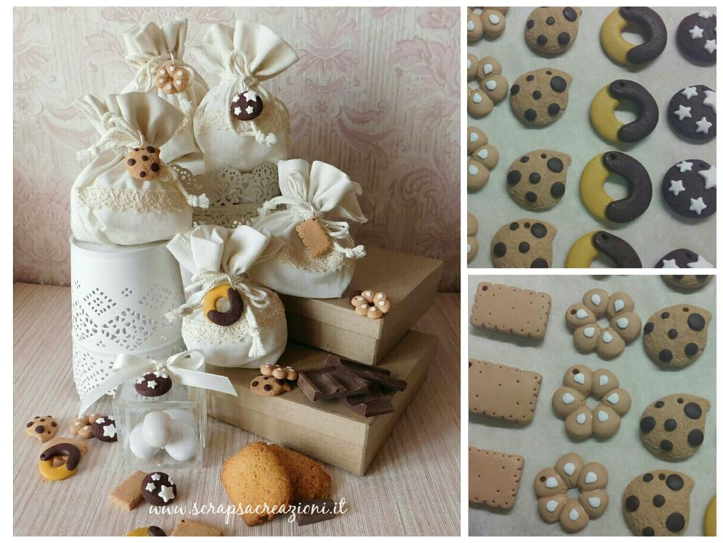 bomboniere matrimonio simpatiche biscotti