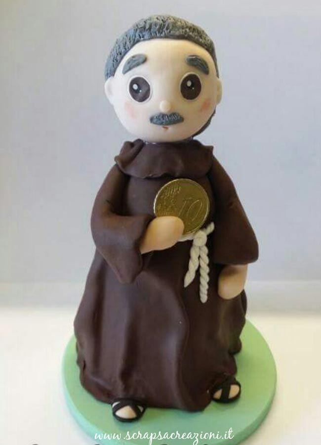 cake topper compleanno frate