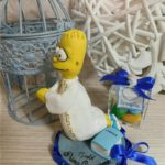 cake topper comunione simpsons