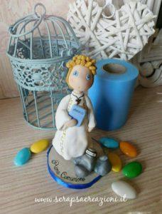 cake topper comunione religiosa vangelo