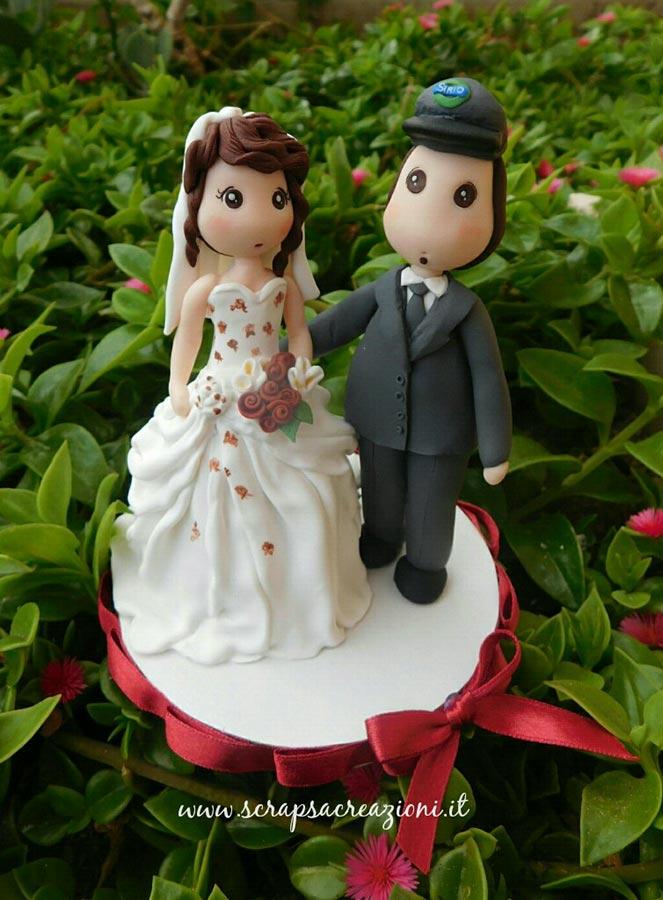 topper cake personalizzati sposi