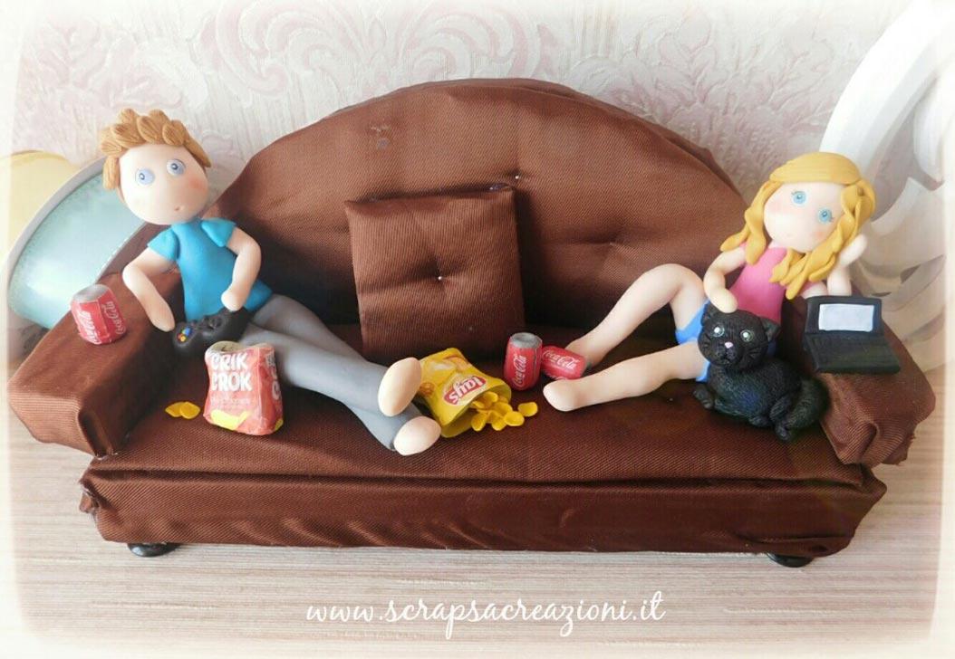 cake topper san valentino