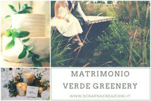 idee matrimonio verde greenery