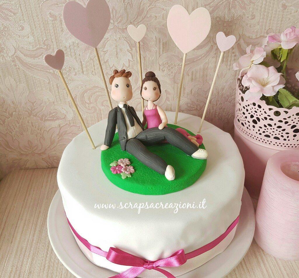 decorare la torta di san valentino