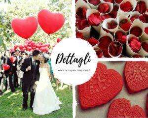 Matrimonio in rosso: effetto wow!!