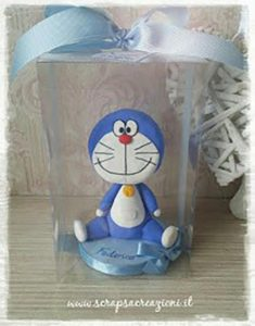 doraemon cake topper battesimo