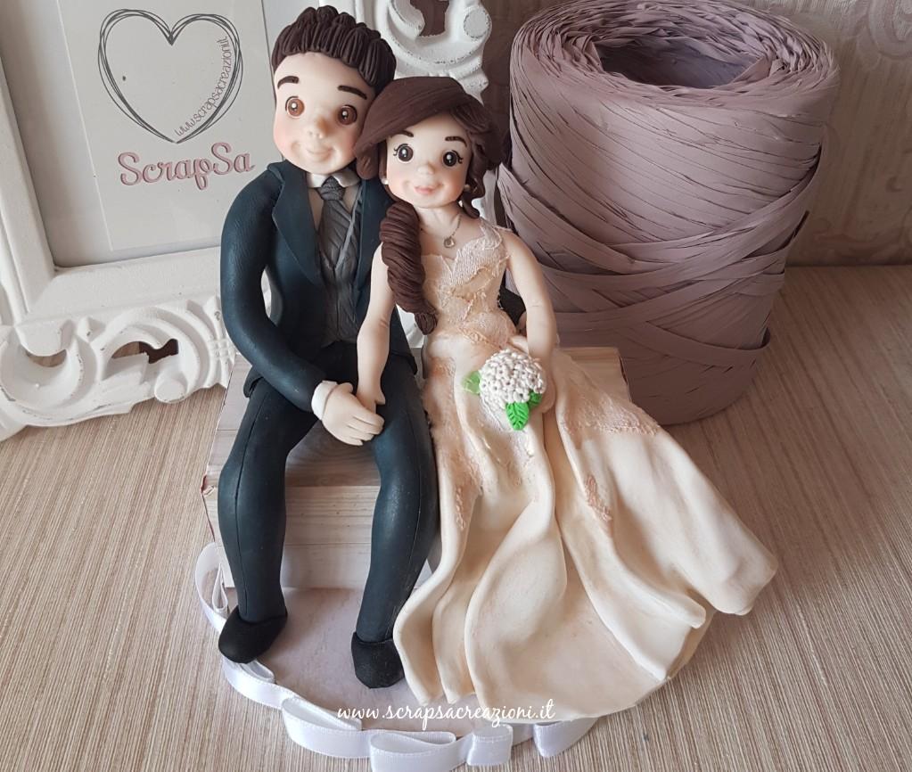 sposi in fimo