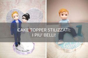 cake topper stilizzati Scrapsa