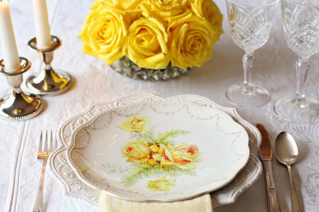 addobbi e fiori originali per celebrare le nozze d'argento