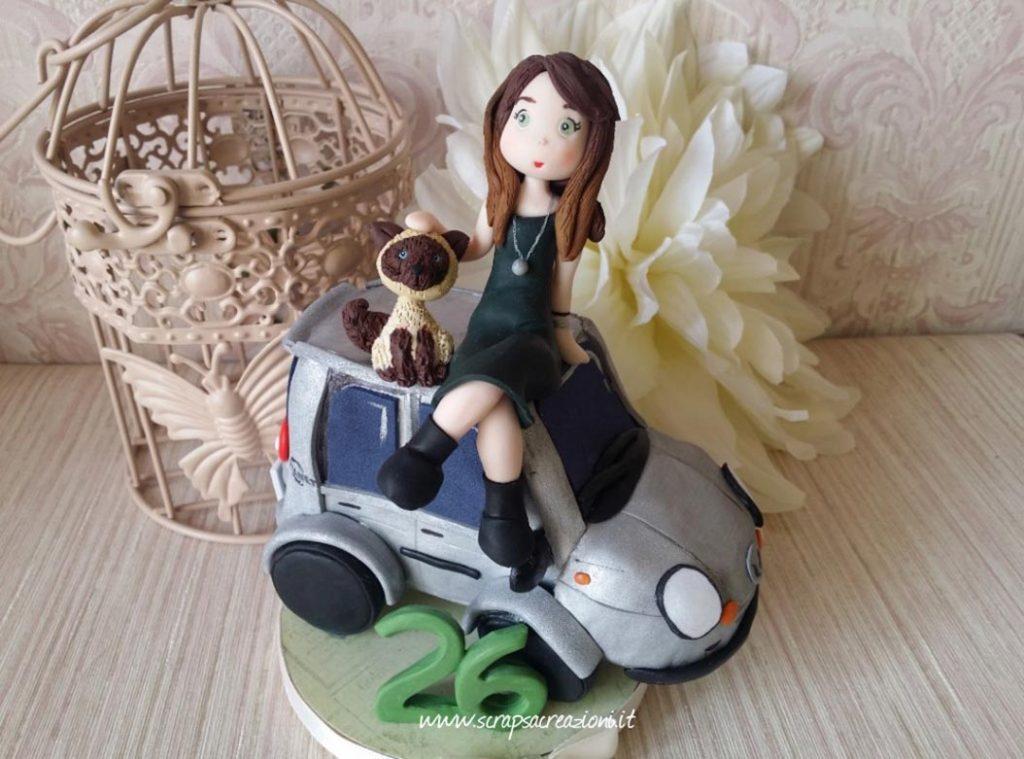 cake topper compleanno ragazza