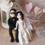 cake topper originali matrimonio