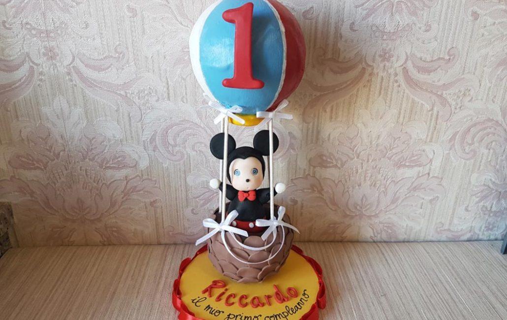 cake topper primo compleanno