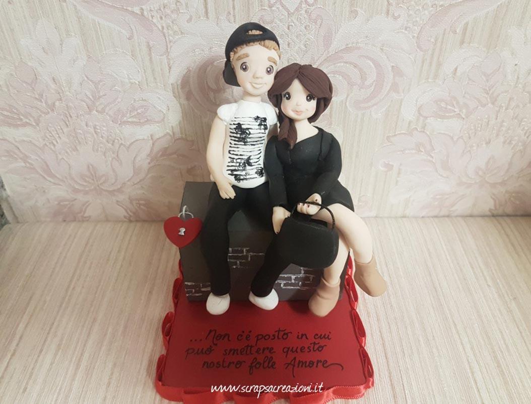 topper cake san valentino