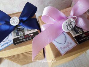 Chiudipacco cake topper regalo sposi