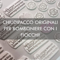 DECORAZIONI CHIUDIPACCO: COME CONFEZIONARE UNA BOMBONIERA CON I FIOCCHI!