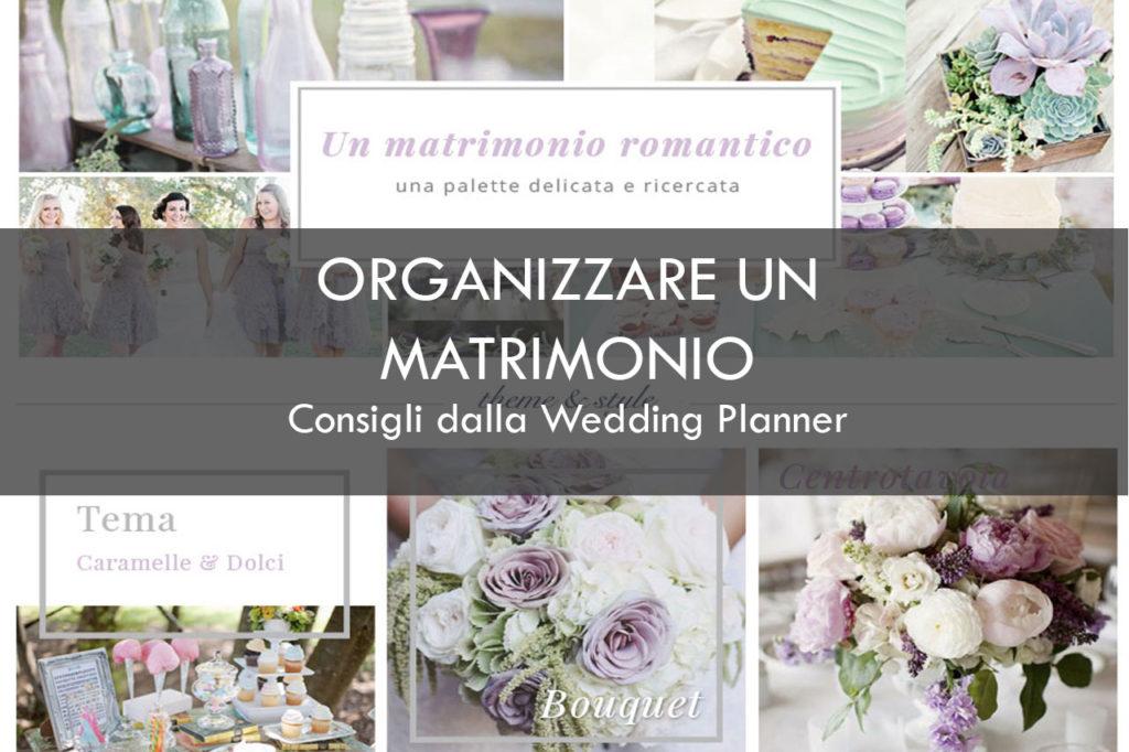 Organizzare un matrimonio, progetto della wedding planner
