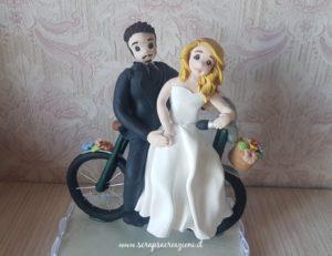 cake topper per matrimonio divertente