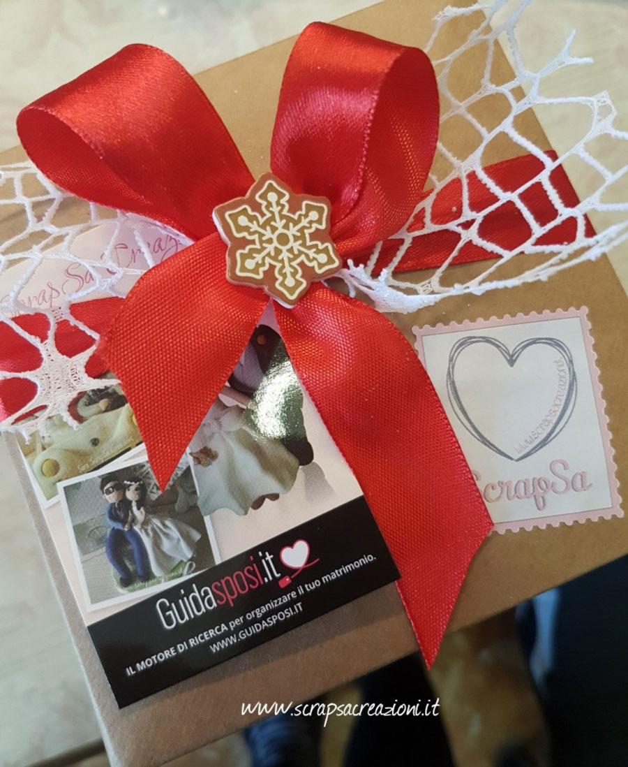 regali di natale per famiglia, fiocco rosso