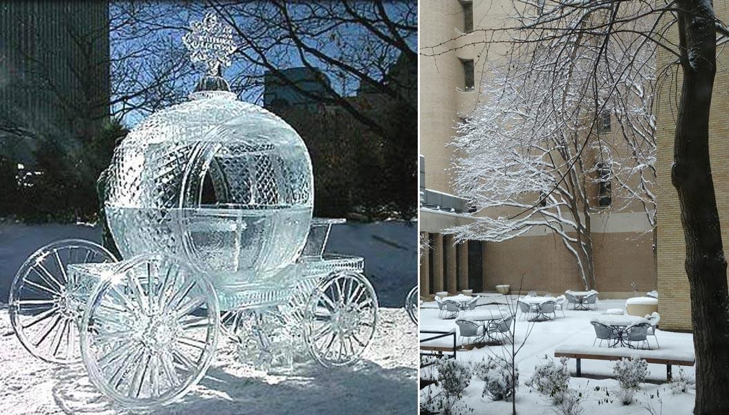 sposarsi in inverno con la neve
