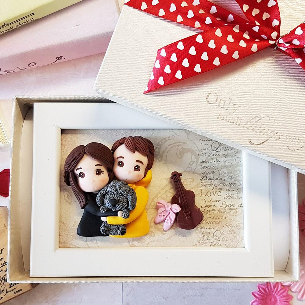 quadretto personalizzato idea regalo San Valentino