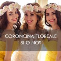 Coroncine di fiori per damigelle e sposa