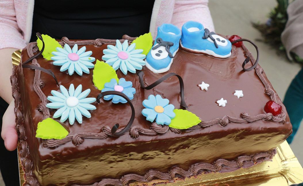 torta battesimo maschio cioccolato fai da te