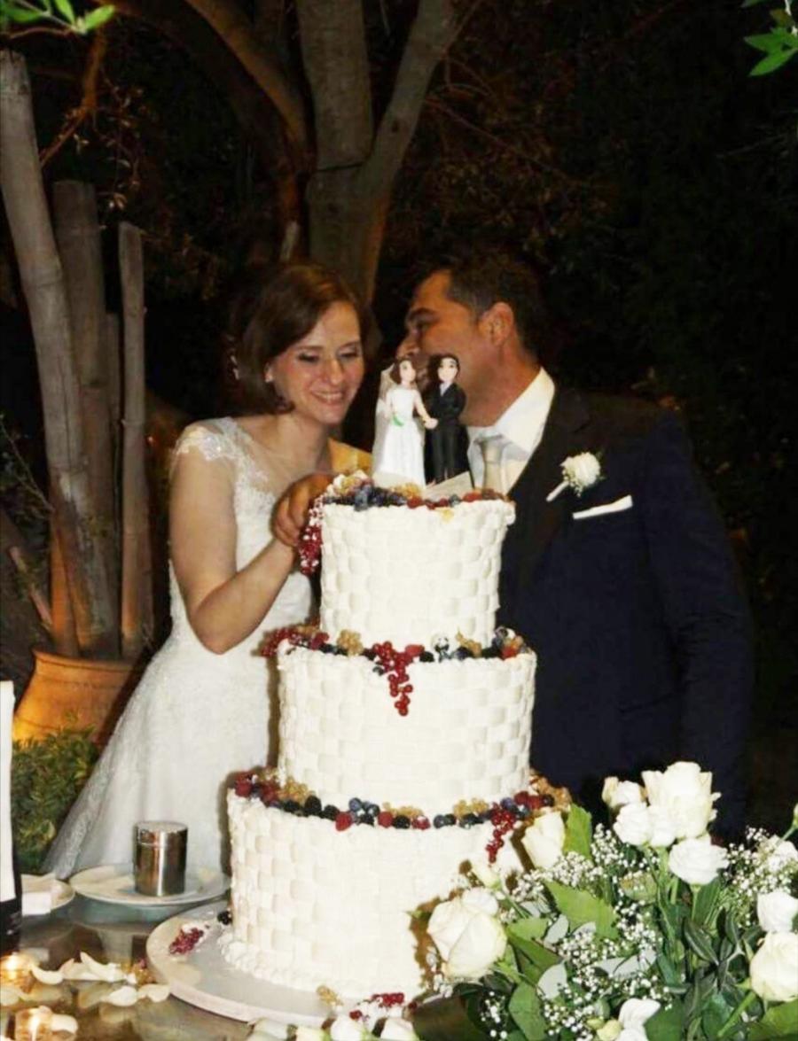 torta matrimonio frutti di bosco