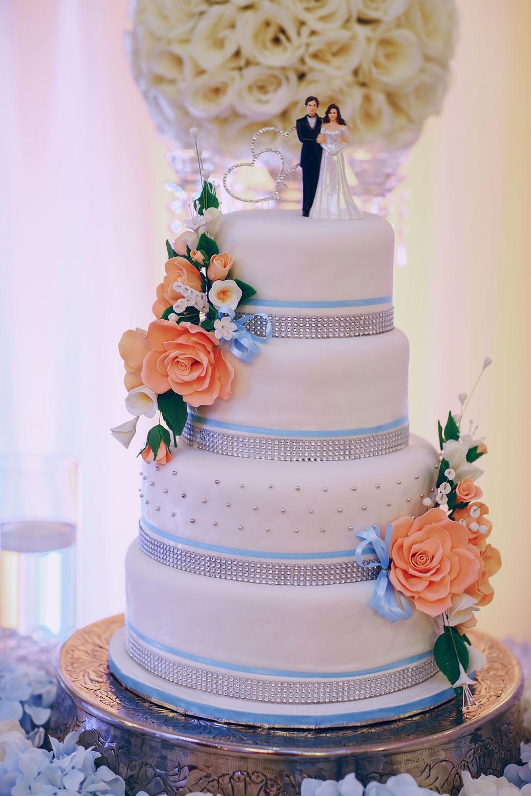 torta matrimonio a più piani