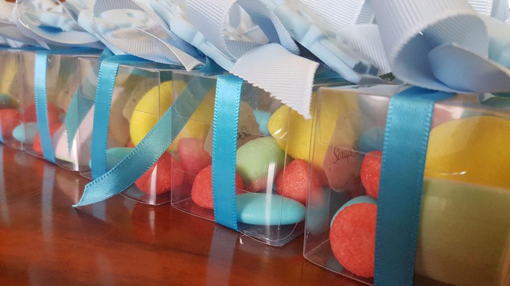 scatolina caramelle bomboniere primo compleanno