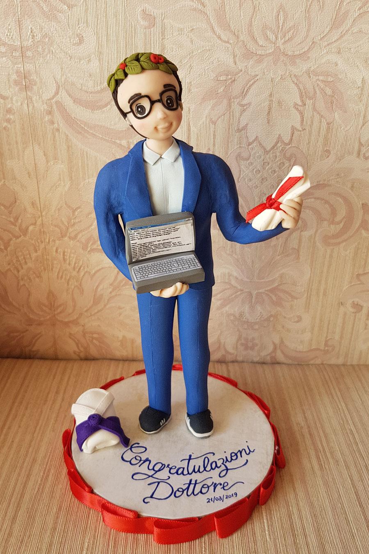 cake topper laurea ingegneria