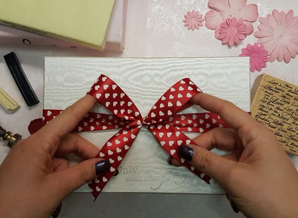 regalo nozze confezione fatta a mano