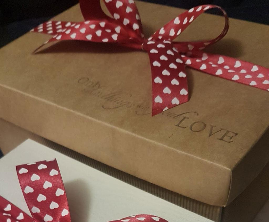confezione regalo matrimonio originale