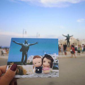 cartolina foto ricordo vacanza