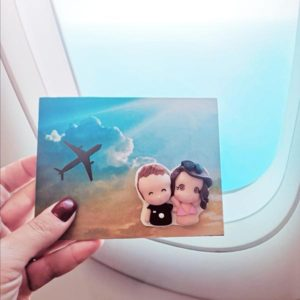 cartolina foto ricordo personalizzata vacanza