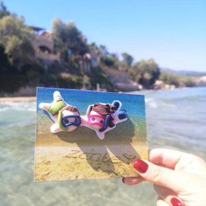 cartolina fotografica personalizzata zante