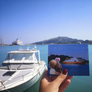 cartolina fotografica ricordo vacanze