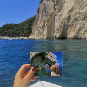 cartolina foto ricordo vacanza grecia