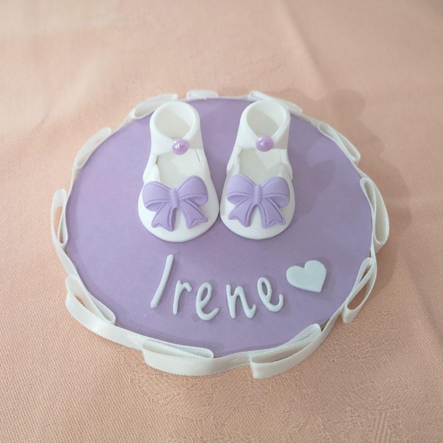 cake topper nascita bimba