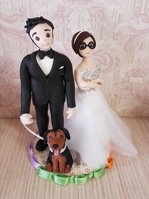 sposi con cane