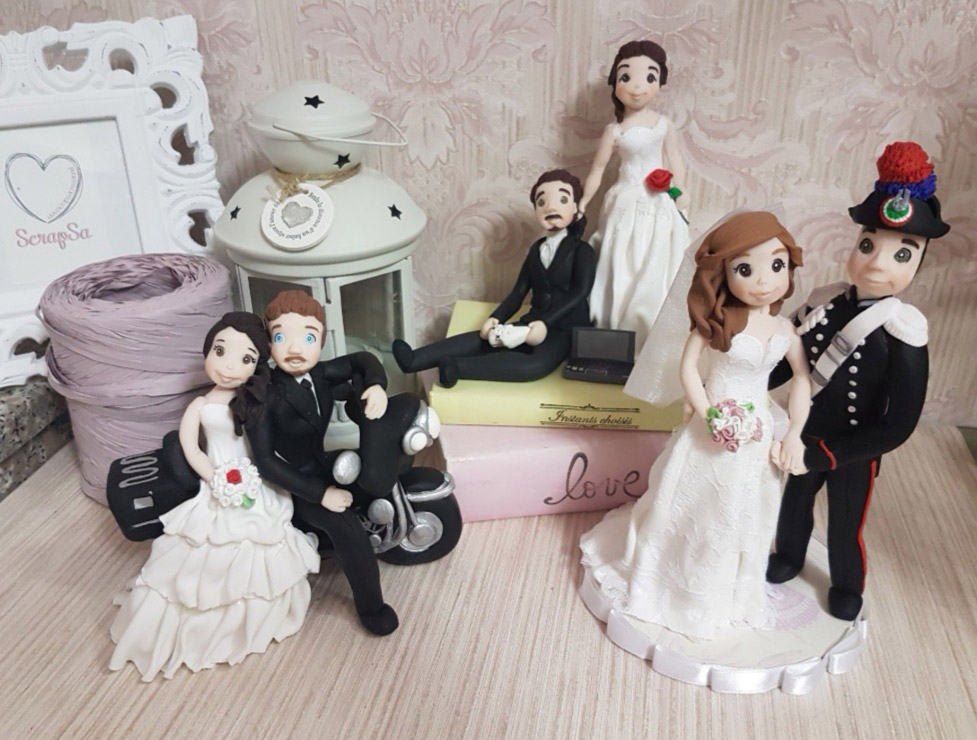cake topper sposi personalizzati scrapsa