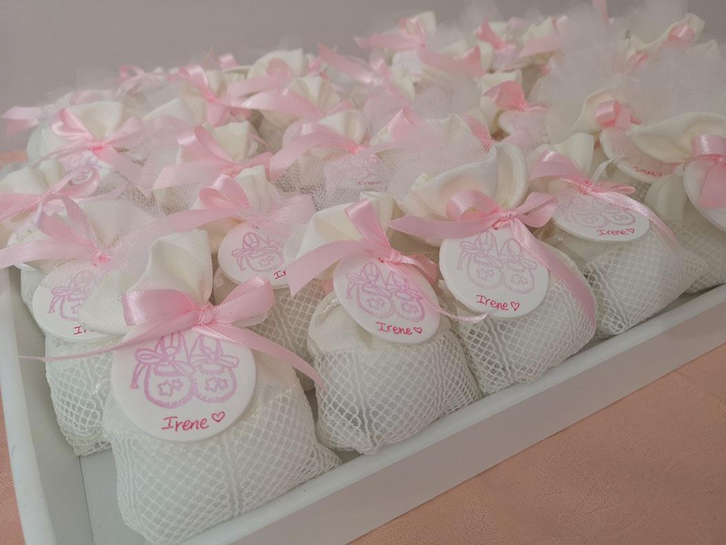 sacchetti nascita bimba personalizzati