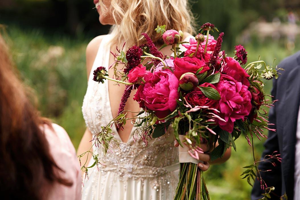 bouquet sposa bohemien