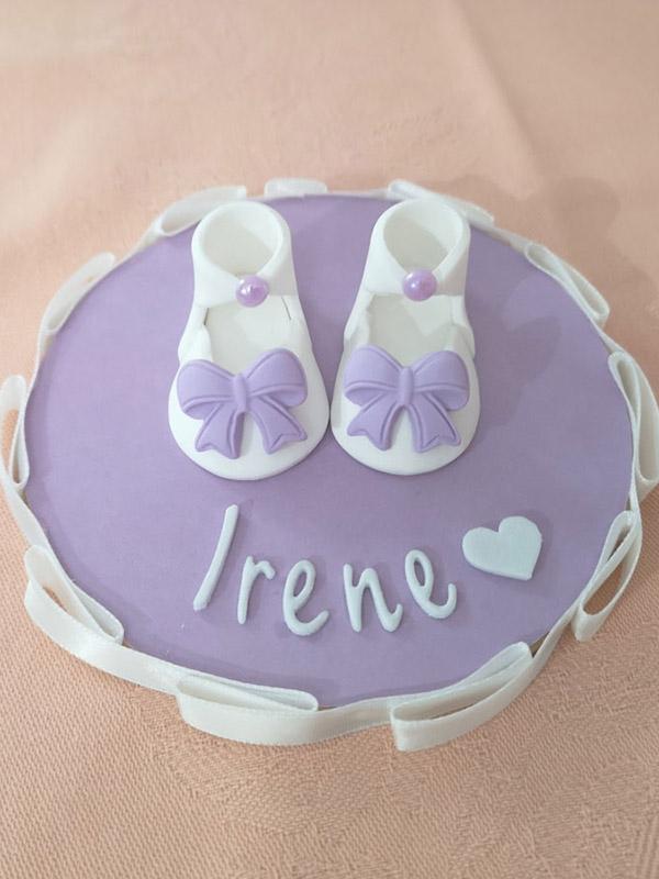 cake topper battesimo femmina