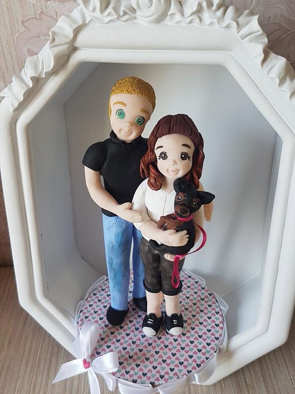 cake topper anniversario fidanzamento