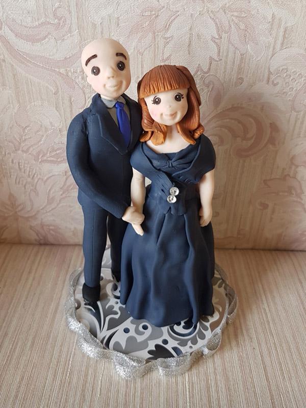 cake topper nozze d argento