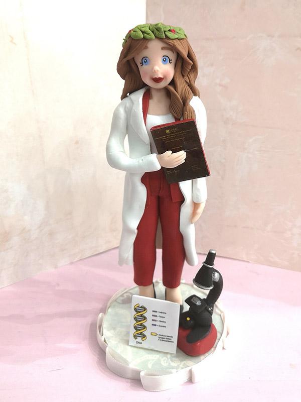 cake topper personalizzato laurea medicina
