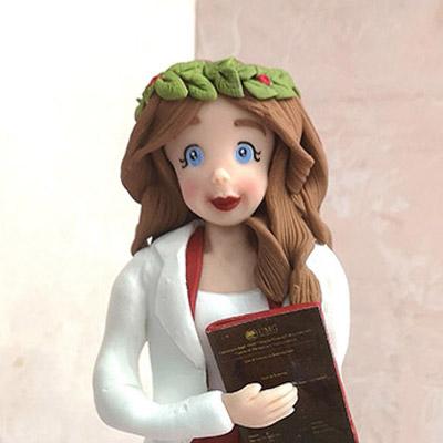 cake topper realistico