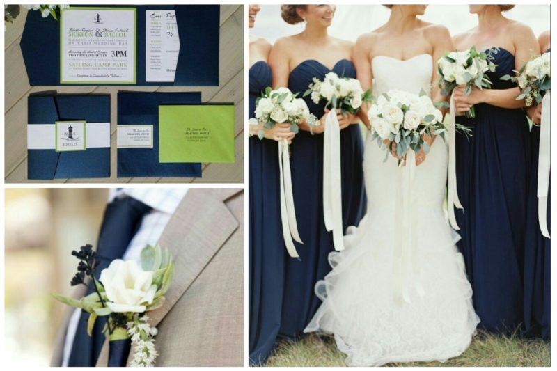 matrimonio verde blu