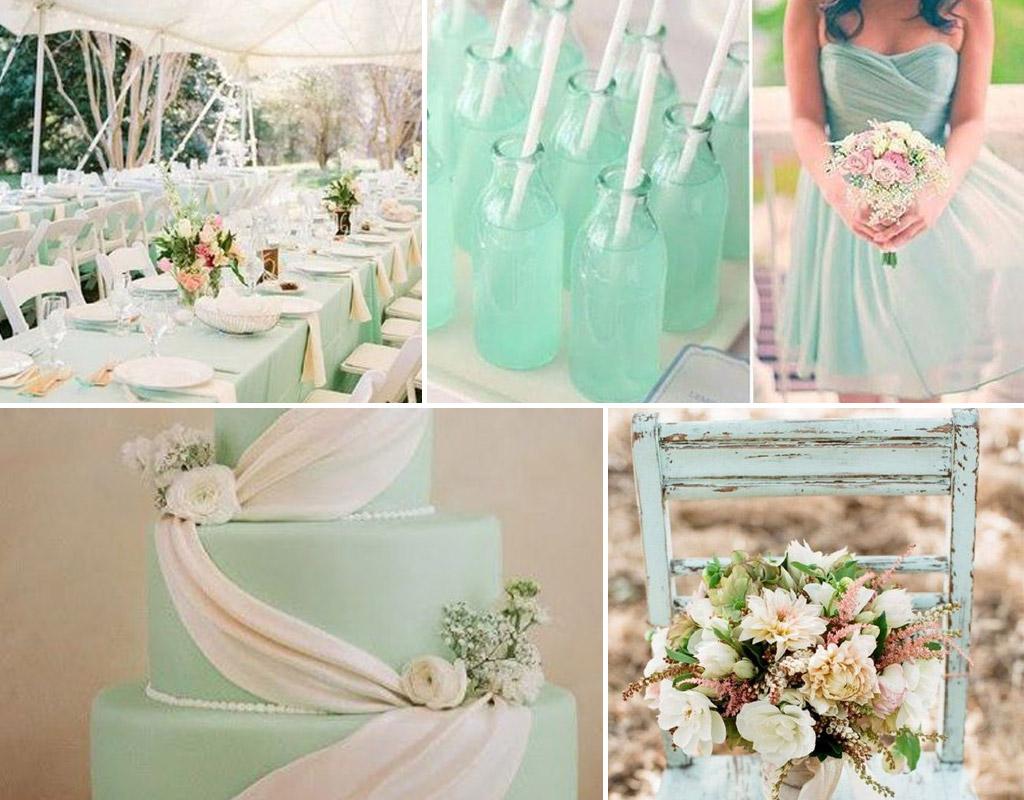 matrimonio verde menta